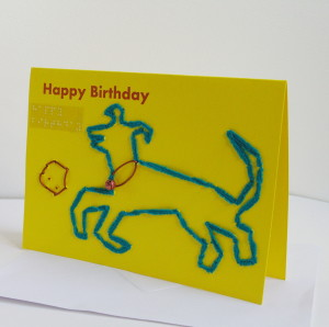 happy birthday card_dog playing with ball-01